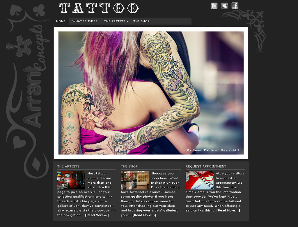 Tattoo Theme
