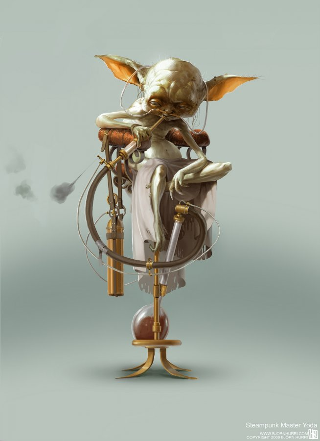 Steampunk Star Wars Art Aaron J Turner