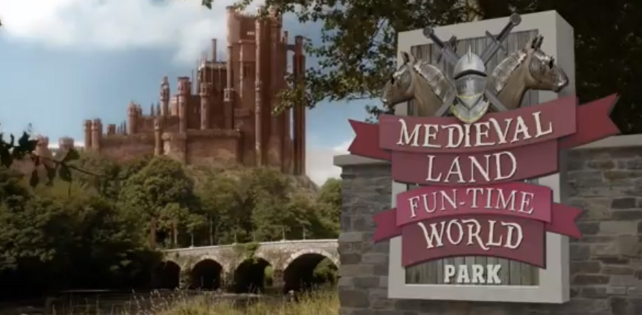 """MEDIEVAL LAND FUN-TIME WORLD"""