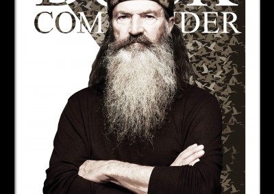 Phil Robertson – Duck Commander – High Quality Print Poster