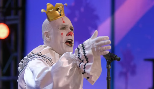 "Puddles Pity Party: Sad Clown Stuns Crowd with Sia's ""Chandelier"" – America's Got Talent 2017"